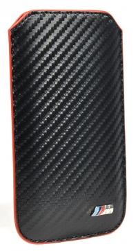 Чехол BMW для iPhone 5s M-Collection Sleeve Carbon effect