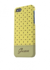 Чехол Guess Gianina для iPhone 5/5s желтый