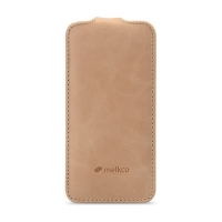 Чехол Melkco для iPhone 5C Leather Case Jacka Type Vintage Khaki