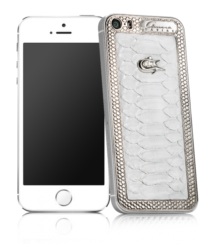 Купить CAVIAR Apple iPhone 5S 64GB Silver Amore Angelo