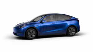 Tesla Model Y Long Range Blue Metallic