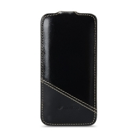 Чехол Melkco для iPhone 5C Leather Case Jacka Type Mix and Match Series Vintage Black/ Black Wax