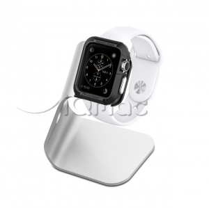 Док-станция Spigen Stand S330 для Apple Watch - Серебристый