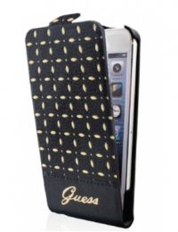 Чехол Guess Gianina для iPhone 5/5s Черный