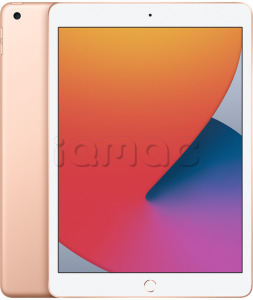 "Купить iPad 10,2"" (2020) 128gb / Wi-Fi + Cellular / Gold"