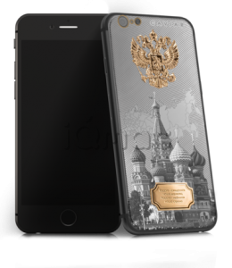 CAVIAR iPhone 6S 128Gb Ti Gold Atlante Russia