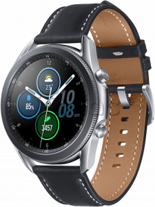 Купить Samsung Galaxy Watch3 (45 мм)  Mystic Silver/Серебро