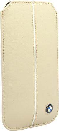 Чехол BMW для iPhone 5s Signature Sleeve Cream
