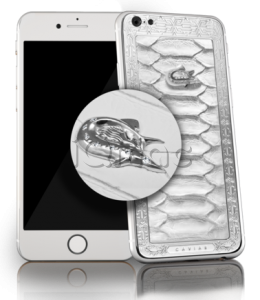 Купить CAVIAR iPhone 6S 128Gb Unico Perla Anaconda Diamante