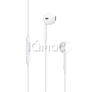 Купить Наушники Apple EarPods с пультом управления и микрофоном