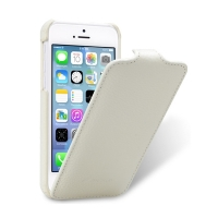 Чехол Melkco для iPhone 5C Leather Case Jacka Type White LC