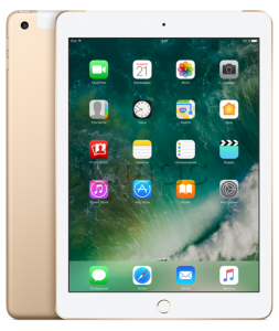 "Купить iPad 9,7"" (2017) 128gb Gold Wi-Fi + Cellular"