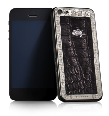 Купить CAVIAR iPhone 5S Unico Alligatore Lusso LE