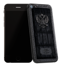 Купить Caviar iPhone 7 Atlante Russia Alligatore Black Edition