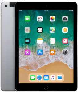 "Купить iPad 9,7"" (2018) 128gb / Wi-Fi + Cellular / Space Gray"