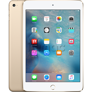 Купить Apple iPad mini 4 64Гб Gold Wi-Fi + Cellular