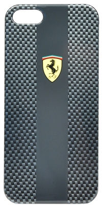 Чехол Ferrari для iPhone 5s HardCarbon-Black