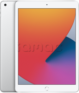 "Купить iPad 10,2"" (2020) 128gb / Wi-Fi + Cellular / Silver"