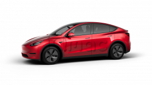 Tesla Model Y Long Range All-Wheel Drive Red
