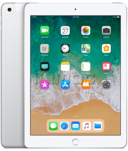 "Купить iPad 9,7"" (2018) 32gb / Wi-Fi + Cellular / Silver"