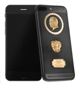 Купить Caviar iPhone 7 Plus 32 Gb Supremo Putin Gold Black Edition по низкой цене
