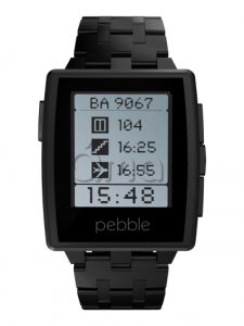 Купить Pebble Смарт-часы PEBBLE STEEL Черные