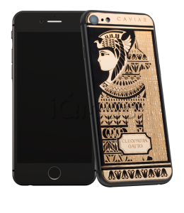Купить Caviar iPhone 7 Icone di Stile Cleopatra Gatto