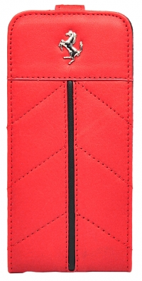 Чехол Ferrari для iPhone 5s FlipCalifornia-Red
