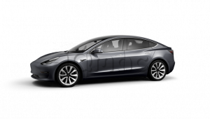 Tesla Model 3 Long Range Battery Midnight Silver
