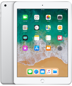 "Купить iPad 9,7"" (2018) 128gb / Wi-Fi / Silver"