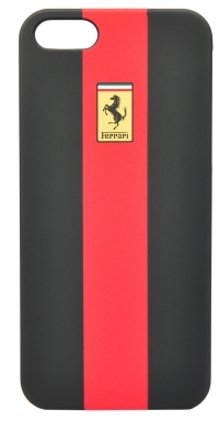 Чехол Ferrari для iPhone 5s Rubber-Red