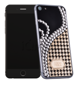 Купить Caviar iPhone 7 Icone di Stile Coco Perla