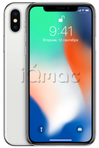 Купить iPhone X 256Gb Silver