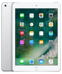 "Купить iPad 9,7"" (2017) 128gb Silver Wi-Fi + Cellular"