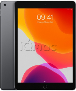 "Купить iPad 10,2"" (2019) 128gb / Wi-Fi + Cellular / Space Gray"