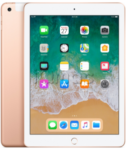 "Купить iPad 9,7"" (2018) 128gb / Wi-Fi + Cellular / Gold"