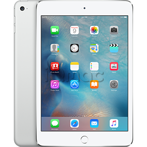 Купить Apple iPad mini 4 128Гб Silver Wi-Fi + Cellular