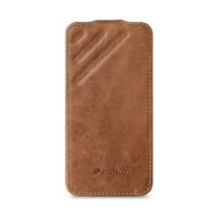 Чехол Melkco для iPhone 5C Leather Case Craft Limited Edition Prime Dotta Brown Wax Leather