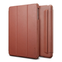 Чехол SGP Leather Case Leinwand Vegetable Brown