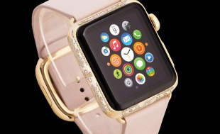 Caviar Apple Watch Epoca Imperia Ekaterina II Leather 38mm
