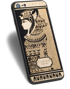 Caviar iPhone 7 Icone di Stile Cleopatra Gatto