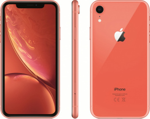 iPhone XR 128Gb (Dual SIM) Coral / с двумя SIM-картами