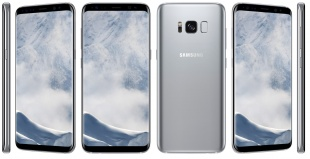 Смартфон Samsung Galaxy S8+ 64Gb Арктический серебристый