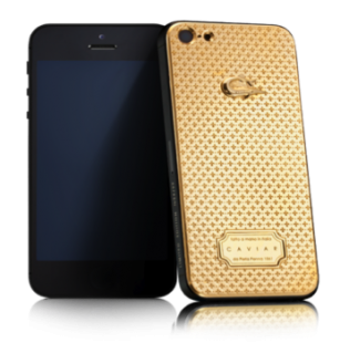 CAVIAR iPhone 5S Unico Sole