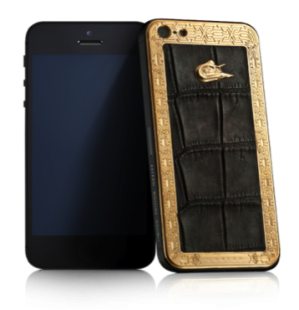 CAVIAR iPhone 5S Unico Alligatore LE