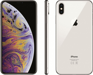 iPhone Xs Max 64Gb (Dual SIM) Silver / с двумя SIM-картами