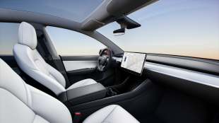 Tesla Model Y Long Range White