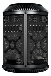 Apple Mac Pro (ME253) Xeon E5 3.7ГГц (4xCore), 12Гб, 256Гб FLASH, 2хAMD FIREPRO D300-2Гб