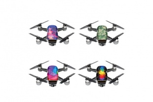 Набор наклеек DJI Skin for Spark 4 pack (D3/D5/D6/CA4)