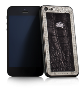 CAVIAR iPhone 5S Unico Alligatore Lusso LE